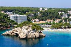 Cala Galdana beach, Island of Menorca, Spain Royalty Free Stock Photography