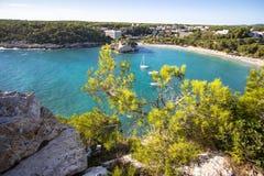 Cala Galdana, Menorca, España Fotos de archivo libres de regalías