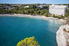 Cala Galdana, Menorca, España Foto de archivo libre de regalías