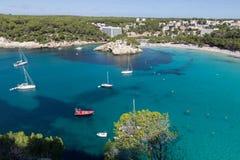 Cala Galdana, Menorca, Spanien Arkivbild