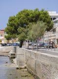 Cala Gamba stairs to the water Stock Image
