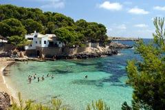 Cala Gat Beach - Mallorca. Cala Gat Beach near Cala Ratjada, Mallorca, Spain Royalty Free Stock Photos