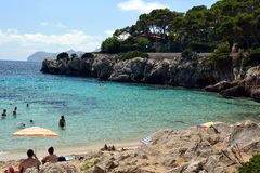 Cala Gat Beach - Mallorca Royalty Free Stock Photography