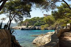 Cala Gat Beach - Mallorca Stock Photo