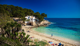 On the Cala Gat beach Royalty Free Stock Photography