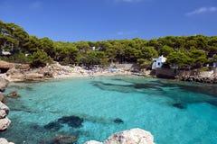 Cala Gat plaża - Mallorca Zdjęcia Stock