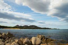 Cala Ginepro Sardinien Lizenzfreies Stockfoto