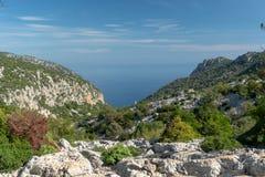 Cala Goloritzé, Sardegna Italia fotografia stock libera da diritti