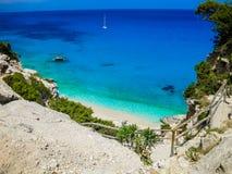 Cala Goloritzé, Sardegna, Italia immagini stock libere da diritti