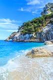 Cala Goloritze海滩, Sardegna 免版税库存图片