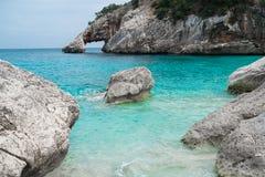 Cala Goloritze beach Royalty Free Stock Photos