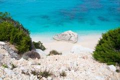 Cala Goloritze beach Royalty Free Stock Photography