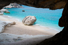 Cala Goloritze beach Royalty Free Stock Photos