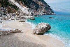 Cala Goloritze beach Stock Photography