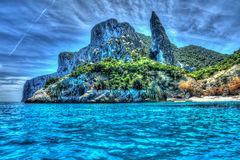 Cala Goloritze in hdr Stock Photography