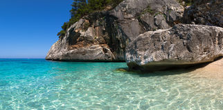 Cala Goloritze, Sardinia royaltyfri bild