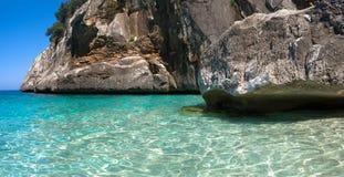 Cala Goloritze, Sardinia. View of awesome sea of Cala Goloritze, in Ogliastra, Sardegna stock image