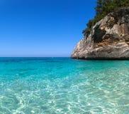 Cala Goloritze, Sardinia. View of awesome sea of Cala Goloritze, in Ogliastra, Sardegna stock photography
