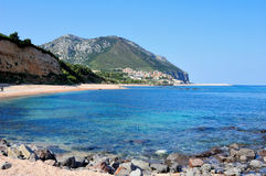 Cala Gonone Royalty Free Stock Photography