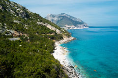Cala gonone Stock Photography