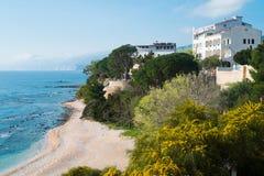 Cala Gonone beach Stock Photo
