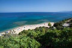 Cala Gonone beach, Sardinia Stock Photos