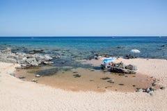 Cala Gonone beach, Sardinia Royalty Free Stock Photography