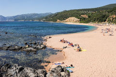 Cala Gonone beach on Sardinia, Italy Stock Images