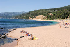 Cala Gonone beach on Sardinia, Italy Stock Image