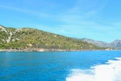Cala Gonone shoreline Stock Image