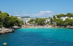 Cala Gran bay in Cala D`Or, Mallorca, Balearic islands, Spain Stock Image