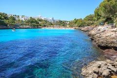 The Cala Gran bay on Mallorca Royalty Free Stock Image