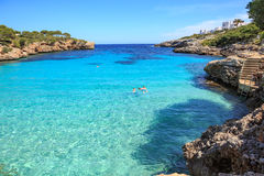 The Cala Gran bay on Mallorca Stock Image