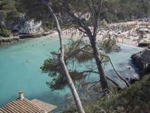 Cala Llombards, Majorca, España Fotografía de archivo libre de regalías