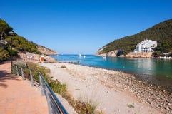 Cala Llonga, Ibiza Fotografia Stock Libera da Diritti
