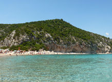 Cala Luna Bay Stock Photography