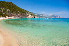 Cala Luna bay in Sardinia Stock Photography