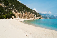 Cala Luna beach Royalty Free Stock Photos