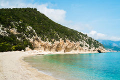 Cala Luna beach Royalty Free Stock Images