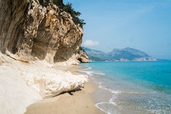 Cala Luna beach. In Cala Gonone, Sardinia, Italy Stock Image