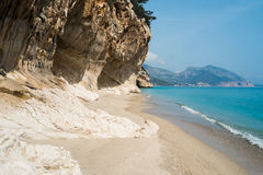 Cala Luna beach Royalty Free Stock Image