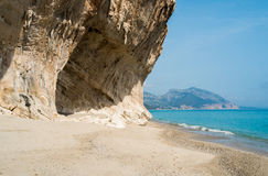 Cala Luna beach Royalty Free Stock Photography