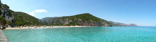 Cala Luna Beach Stock Photography