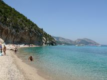 Cala Luna Beach Royalty Free Stock Photo