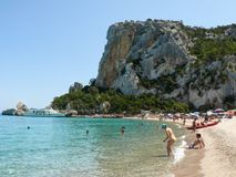 Cala Luna Beach Stock Images