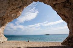Cala Luna beach, Sardinia, Italy Stock Photo