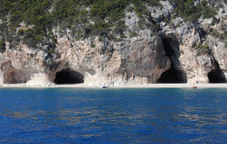 Cala Luna - Caves of Eastern Sardinia Stock Image