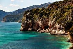 Cala Luna, Sardaigne, Italie Images stock