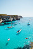 Cala Macarella Royalty Free Stock Photos