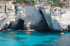 Cala Macarella Royalty Free Stock Images